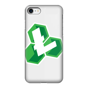 👕 Litecoin Cash LCC Logo Fully Printed Tough Phone Case - Best Bitcoin Shirt Shop für Deutschland, Österreich, Schweiz. Top Qualität, 3-5 Tage geliefert und Krypto, Paypal Zahlung