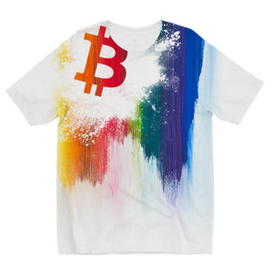 👕 Bitcoin TShirt Splash painted Kids T-Shirt - Best Bitcoin Shirt Shop für Deutschland, Österreich, Schweiz. Top Qualität, 3-5 Tage geliefert und Krypto, Paypal Zahlung