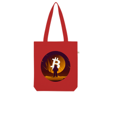 Laden Sie das Bild in den Galerie-Viewer, 👕 Bitcoin to the moon Organic Tote Bag - Best Bitcoin Shirt Shop für Deutschland, Österreich, Schweiz. Top Qualität, 3-5 Tage geliefert und Krypto, Paypal Zahlung