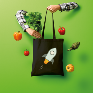👕 stellar XLM Logo Crypto Merch Shopper Tote Bag - Best Bitcoin Shirt Shop für Deutschland, Österreich, Schweiz. Top Qualität, 3-5 Tage geliefert und Krypto, Paypal Zahlung