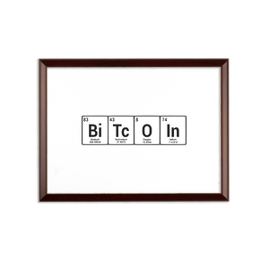 👕 Bitcoin Periodic Table Sublimation Wall Plaque - Best Bitcoin Shirt Shop für Deutschland, Österreich, Schweiz. Top Qualität, 3-5 Tage geliefert und Krypto, Paypal Zahlung