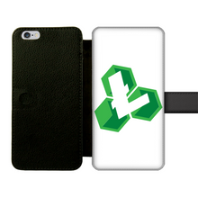 Laden Sie das Bild in den Galerie-Viewer, 👕 Litecoin Cash LCC Logo Front Printed Wallet Cases - Best Bitcoin Shirt Shop für Deutschland, Österreich, Schweiz. Top Qualität, 3-5 Tage geliefert und Krypto, Paypal Zahlung