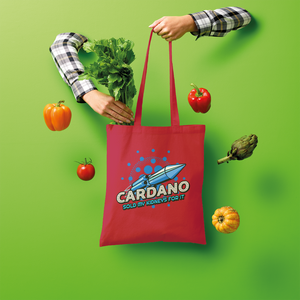 👕 Cardano sold my kidneys for it Shopper Tote Bag - Best Bitcoin Shirt Shop für Deutschland, Österreich, Schweiz. Top Qualität, 3-5 Tage geliefert und Krypto, Paypal Zahlung