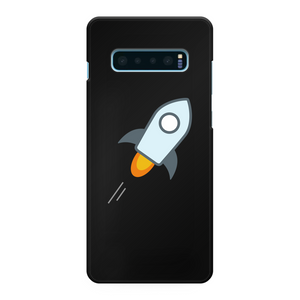 👕 stellar XLM Logo Crypto Merch Back Printed Black Hard Phone Case - Best Bitcoin Shirt Shop für Deutschland, Österreich, Schweiz. Top Qualität, 3-5 Tage geliefert und Krypto, Paypal Zahlung