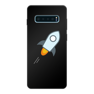 👕 stellar XLM Logo Crypto Merch Back Printed Black Soft Phone Case - Best Bitcoin Shirt Shop für Deutschland, Österreich, Schweiz. Top Qualität, 3-5 Tage geliefert und Krypto, Paypal Zahlung