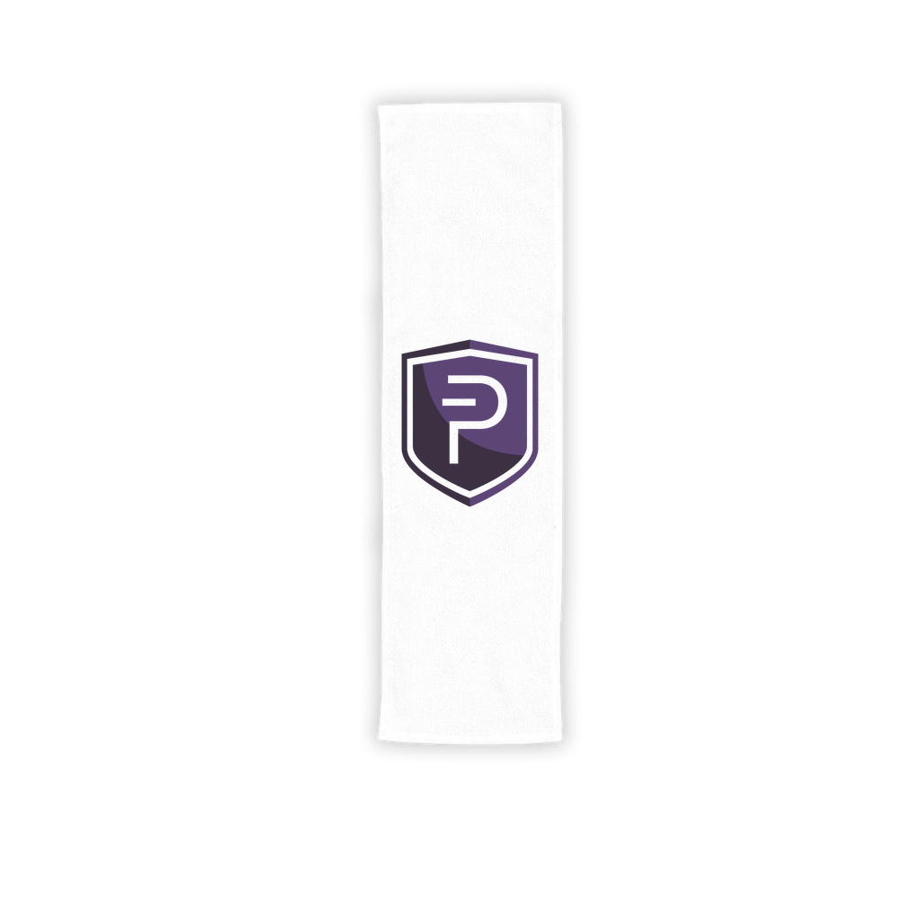 👕 Pivx Logo Crypto Merch Sublimation Sport Towel - Best Bitcoin Shirt Shop für Deutschland, Österreich, Schweiz. Top Qualität, 3-5 Tage geliefert und Krypto, Paypal Zahlung