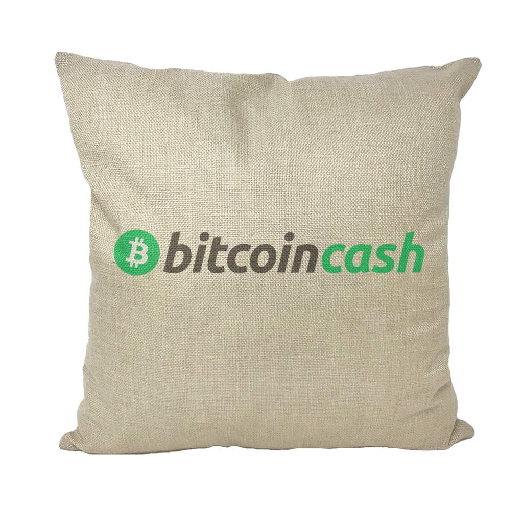 👕 Bitcoin Cash BCH Merch Throw Pillows - Best Bitcoin Shirt Shop für Deutschland, Österreich, Schweiz. Top Qualität, 3-5 Tage geliefert und Krypto, Paypal Zahlung