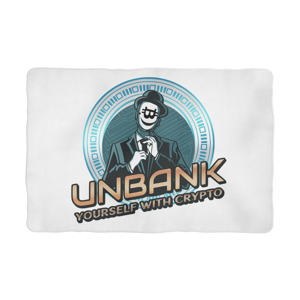 👕 Unbank yourself Sublimation Pet Blanket - Best Bitcoin Shirt Shop für Deutschland, Österreich, Schweiz. Top Qualität, 3-5 Tage geliefert und Krypto, Paypal Zahlung