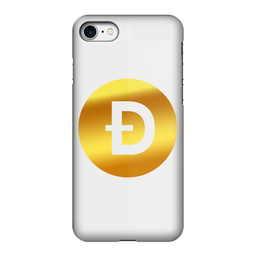 👕 Dogecoin Logo Crypto Merch Fully Printed Tough Phone Case - Best Bitcoin Shirt Shop für Deutschland, Österreich, Schweiz. Top Qualität, 3-5 Tage geliefert und Krypto, Paypal Zahlung