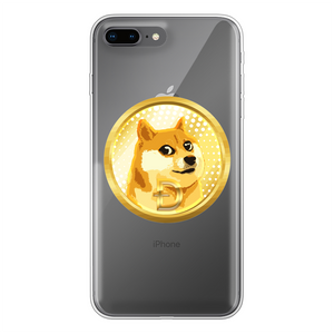 👕 Dogecoin Hund Shiba Inu Meme Back Printed Transparent Soft Phone Case - Best Bitcoin Shirt Shop für Deutschland, Österreich, Schweiz. Top Qualität, 3-5 Tage geliefert und Krypto, Paypal Zahlung