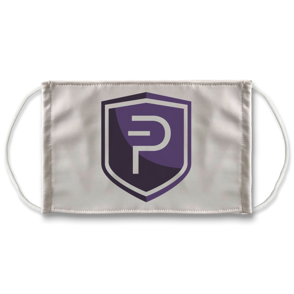 👕 Pivx Logo Crypto Merch Sublimation Face Mask + 10 Replacement Filters - Best Bitcoin Shirt Shop für Deutschland, Österreich, Schweiz. Top Qualität, 3-5 Tage geliefert und Krypto, Paypal Zahlung