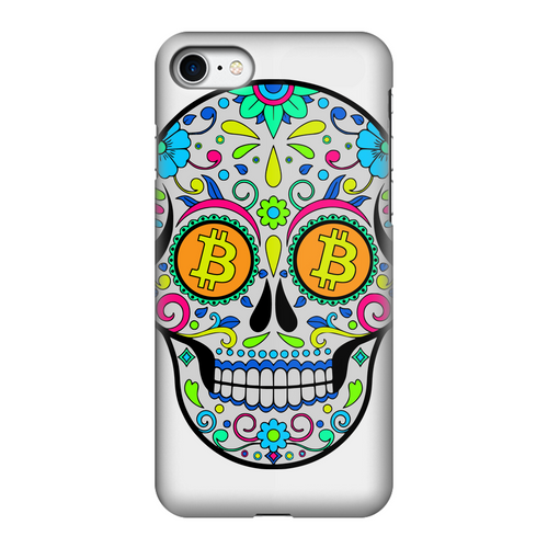 👕 Bitcoin Sugar Skull Fully Printed Tough Phone Case - Best Bitcoin Shirt Shop für Deutschland, Österreich, Schweiz. Top Qualität, 3-5 Tage geliefert und Krypto, Paypal Zahlung