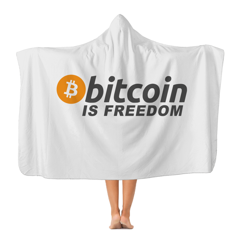 👕 Bitcoin is Freedom Classic Adult Hooded Blanket - Best Bitcoin Shirt Shop für Deutschland, Österreich, Schweiz. Top Qualität, 3-5 Tage geliefert und Krypto, Paypal Zahlung