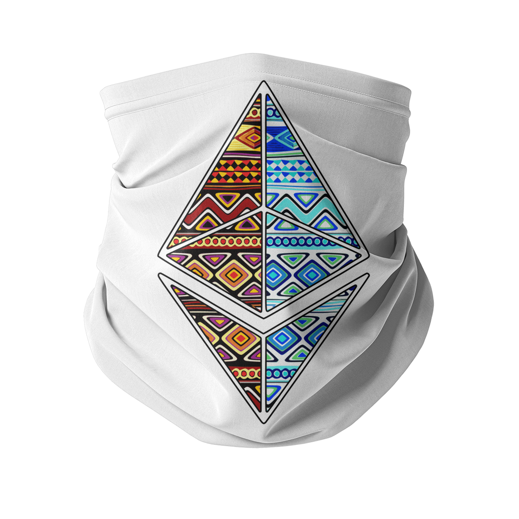 Afrithereum African Ethereum Sublimation Neck Gaiter