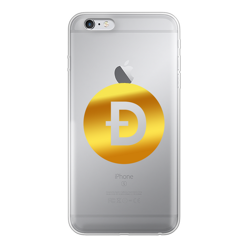 👕 Dogecoin Logo Crypto Merch Back Printed Transparent Soft Phone Case - Best Bitcoin Shirt Shop für Deutschland, Österreich, Schweiz. Top Qualität, 3-5 Tage geliefert und Krypto, Paypal Zahlung