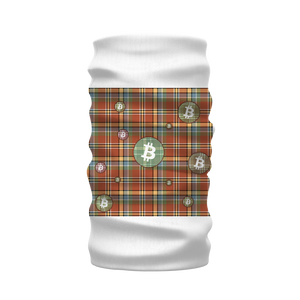 👕 Bitcoin kariertes braunes Muster Sublimation Neck Warmer Morf Scarf - Best Bitcoin Shirt Shop für Deutschland, Österreich, Schweiz. Top Qualität, 3-5 Tage geliefert und Krypto, Paypal Zahlung