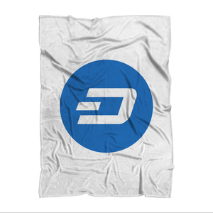 👕 Dash Logo Merch Crypto Premium Sublimation Adult Blanket - Best Bitcoin Shirt Shop für Deutschland, Österreich, Schweiz. Top Qualität, 3-5 Tage geliefert und Krypto, Paypal Zahlung
