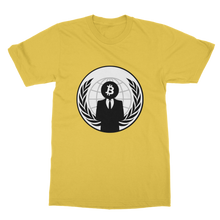 Laden Sie das Bild in den Galerie-Viewer, 👕 Bitcoin Anonymous Classic Adult T-Shirt - Best Bitcoin Shirt Shop für Deutschland, Österreich, Schweiz. Top Qualität, 3-5 Tage geliefert und Krypto, Paypal Zahlung