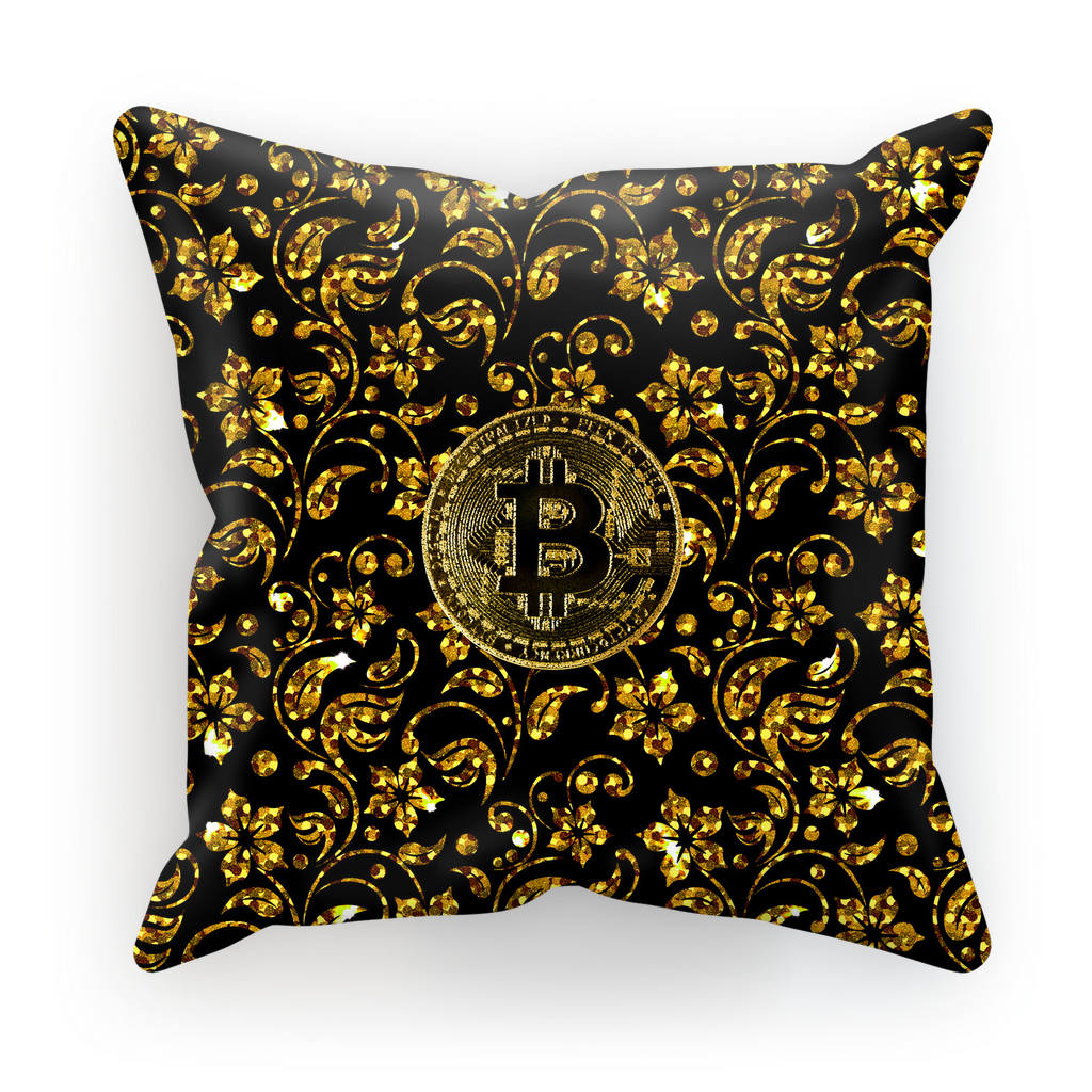 👕 Bitcoin luxus Muster Sublimation Cushion Cover - Best Bitcoin Shirt Shop für Deutschland, Österreich, Schweiz. Top Qualität, 3-5 Tage geliefert und Krypto, Paypal Zahlung