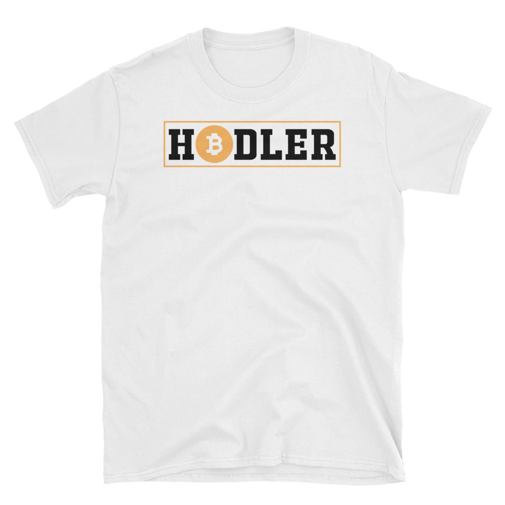 👕 Bitcoin HODLER TShirt - Short-Sleeve Unisex T-Shirt - Best Bitcoin Shirt Shop für Deutschland, Österreich, Schweiz. Top Qualität, 3-5 Tage geliefert und Krypto, Paypal Zahlung