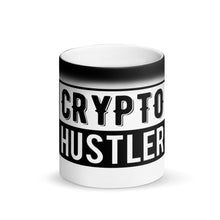 Laden Sie das Bild in den Galerie-Viewer, Crypto Hustler - Matte Black Magic Mug
