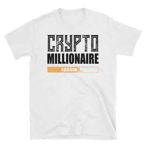 👕 Crypto TShirt Millionaire Loading ... - Short-Sleeve Unisex T-Shirt - Best Bitcoin Shirt Shop für Deutschland, Österreich, Schweiz. Top Qualität, 3-5 Tage geliefert und Krypto, Paypal Zahlung