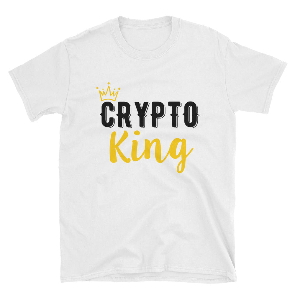 Crypto King - Short-Sleeve Unisex T-Shirt