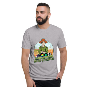 👕 Blockchain TShirt Yield Farmer Short-Sleeve T-Shirt - Best Bitcoin Shirt Shop für Deutschland, Österreich, Schweiz. Top Qualität, 3-5 Tage geliefert und Krypto, Paypal Zahlung