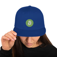 Laden Sie das Bild in den Galerie-Viewer, 👕 Bitcoin Cash Snapback-Cap - Best Bitcoin Shirt Shop für Deutschland, Österreich, Schweiz. Top Qualität, 3-5 Tage geliefert und Krypto, Paypal Zahlung