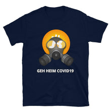 Laden Sie das Bild in den Galerie-Viewer, 🖋️ Maske Shirt Kurzarm-Unisex-T-Shirt (Eigener Text?) - Bitcoin Shirt Shop