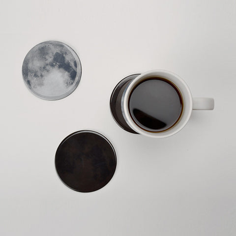 Drink the Moon - Heat sensitive coasters