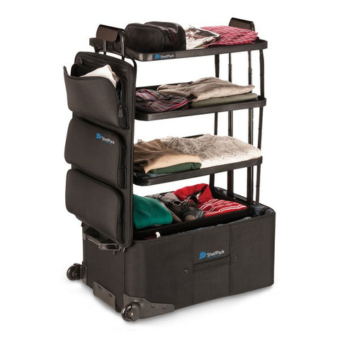 ShelfPack - Portable Closet Suitcase