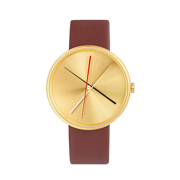 Brass Crossover Watch