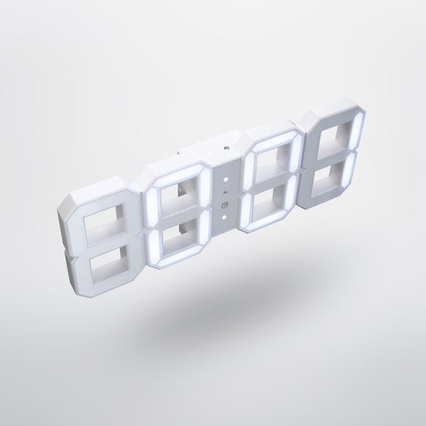 White & White Clock, White Edition