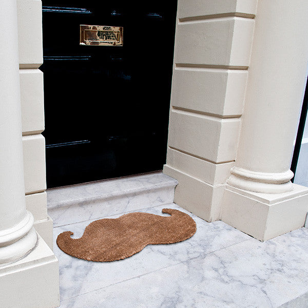 Moustache Door Mat