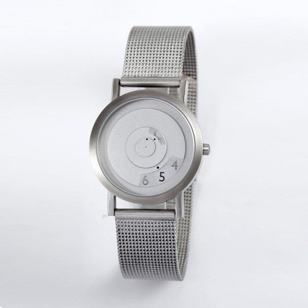 Reveal Watch - Steel on Mesh