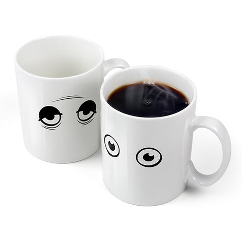 Wake Up! - Heat-Sensitive Mug