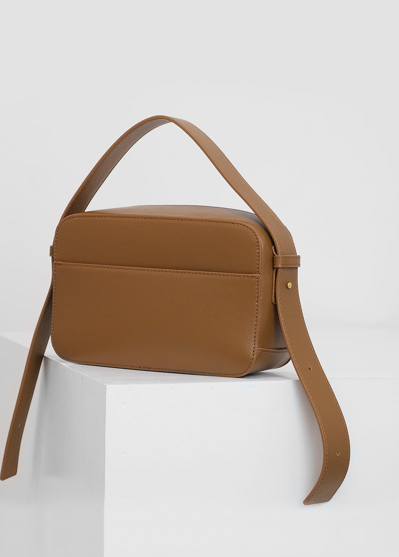 AURÉLIE Medium Leather Shoulder Bag