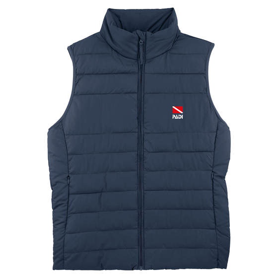 Men's Recycled Classic Dive Flag Vest – Navy
