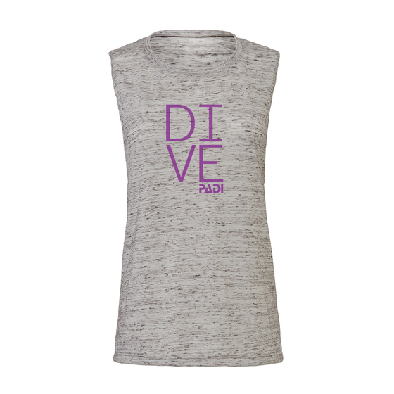 Women's PADI Dive Tank - Grey