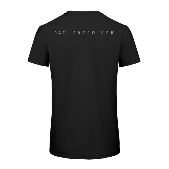 Men's PADI Freediver Tee - Black