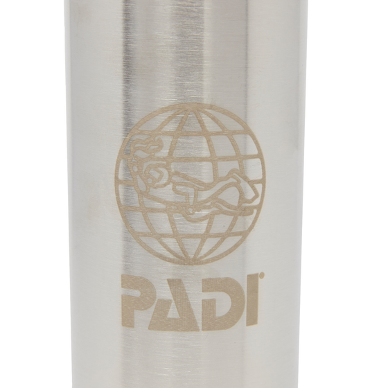 PADI X Klean Kanteen Insulated 20 oz Bottle - Brushed Stainless