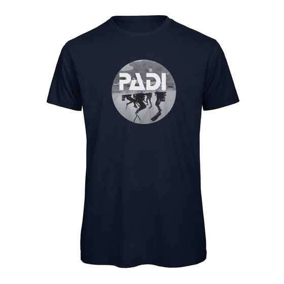 Men's PADI Scuba Icon Tee - Navy