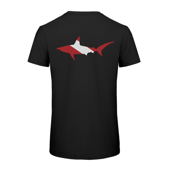 PADI Hammerhead Shark-Black