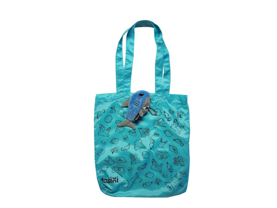 Tasini Shark Keychain / Reusable Bag