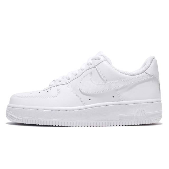 low priced 0af02 5cda0 Nike Air Force 1 07 Whiteout Womens Classic Shoes AF1 Sneakers 315115-112