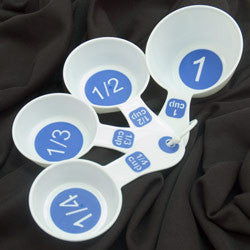Measuring Cups with Large Print - Set of 4