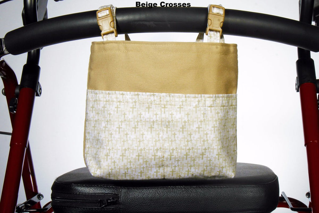 Designer Walker/Rollator Bags - Cambridge Collection