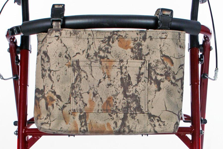 Camouflage Walker/Rollator Bag