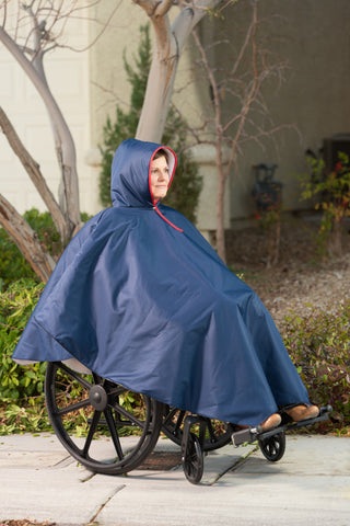CareActive Wheelchair Poncho - Rain or Winter Warmth